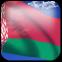 3D vlag van Wit-Rusland