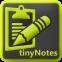 tinyNotes Notepad