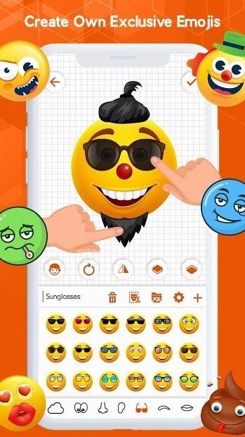 Download Emoji Maker Sticker Avatar Animate Emoji Face For Huawei P40 Lite