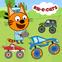 Kid-E-Cats: Corse di bambini. Monster Truck