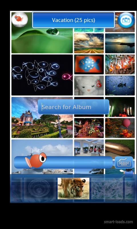 Программа - Photo Gallery (Fish Bowl Beta). Фото. Категории